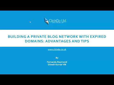 Building A PBN (Private Blog Network) With Expired Domains: Advantages And Tips | ClickDo™