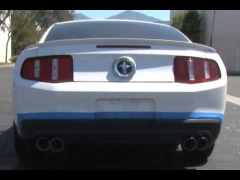 2011 2012 ford mustang v6 exhaust magnaflow stainless steel quad tips 15076