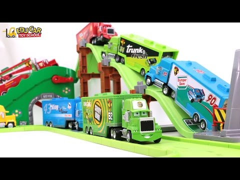 Thumbnail: Learning Color Number With Disney PIXAR Cars Lightning McQueen Mack Truck Playset for kids car toys
