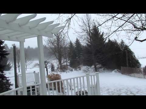 Tempête hivernale le 28 déc 2011 au Québec.MOV HD