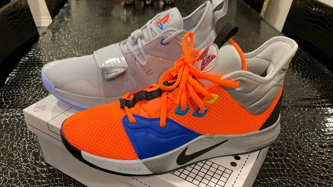 separation shoes 99873 4c0a1 Nike PG 3 NASA Review + PG 2.5 PlayStation Comparison
