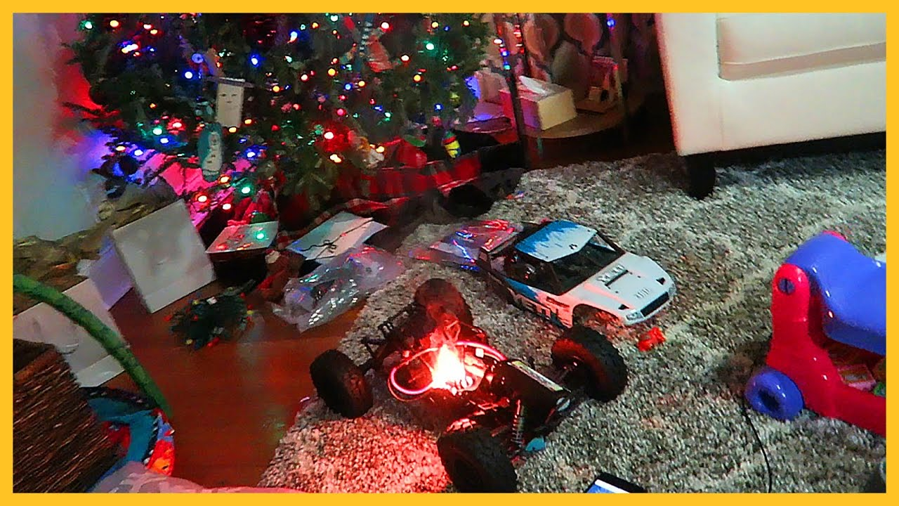 CHRISTMAS TOY CATCHES FIRE, FAMILY EVACUATES HOME!