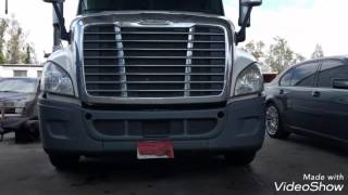 Freightliner Cascadia DD13 DD15 engine DPF cleaning removal and reinstallation spn 3720 fmi 15