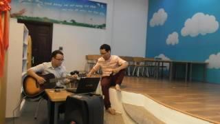 """Mr Đình Khoa & Trà Hiếu tập, phiêu cùng """" Chút thư tình gửi người lính biển"""""""