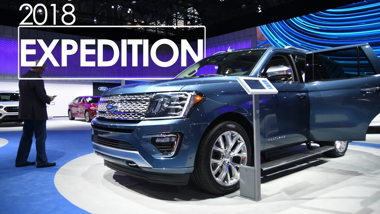 2018 Ford Expedition First Look Review 2017 New York International Auto Show
