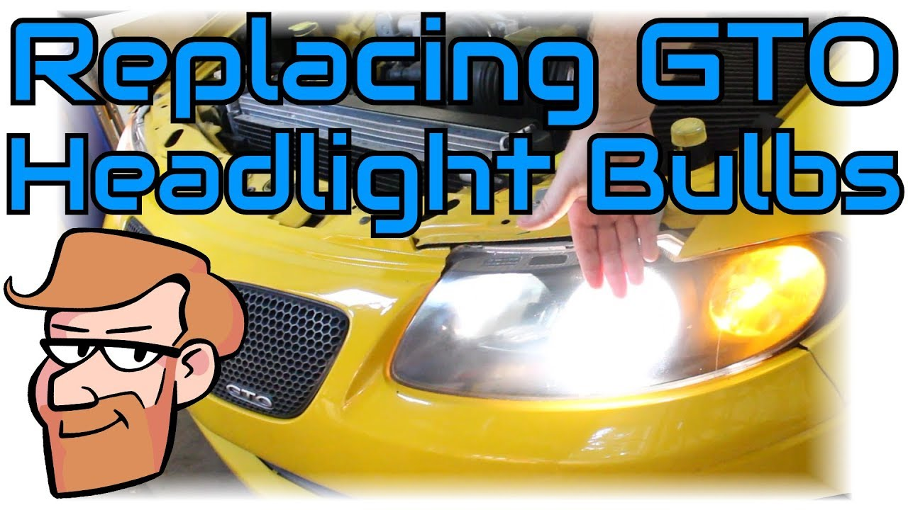 How To Replace 2004 2006 Pontiac Gto Headlight Bulbs Cars Wiring Diagram Simplified Quick Tips