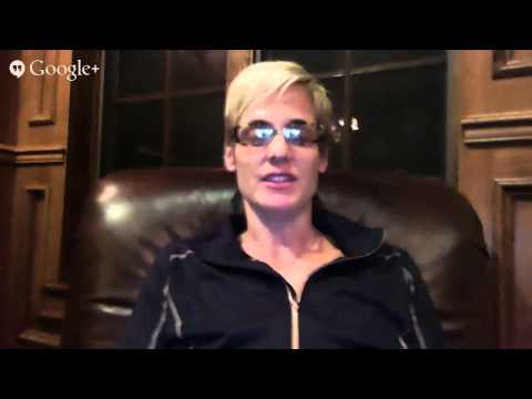 Hangout with Olympic Icons Dara Torres and Brooke Bennett! #hangoutwitholympians