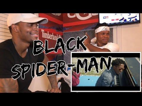 Logic - Black SpiderMan ft. Damian Lemar Hudson - REACTION