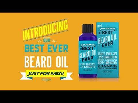 Just For Men® - Our Best Beard Oil Ever