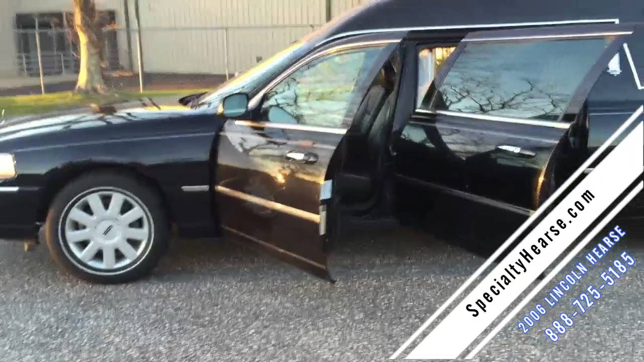 2006 Lincoln Used Hearse For Sale Youtube
