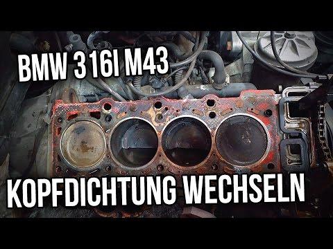 BMW E36   316i 318i   M43 -  Kopfdichtung wechseln