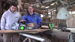 "EGO 56V Battery 14"" CHAINSAW Review"
