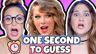 Taylor Swift One Second Song Challenge