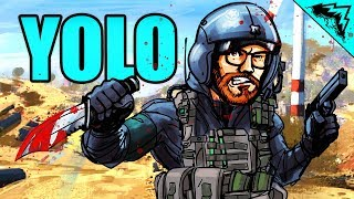 """BOWIE KNIFE - """"YOLO on the Blackout"""" #2"""
