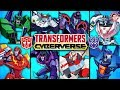 Transformers Cyberverse 2018 Cartoon All Characters + BIOS Revealed