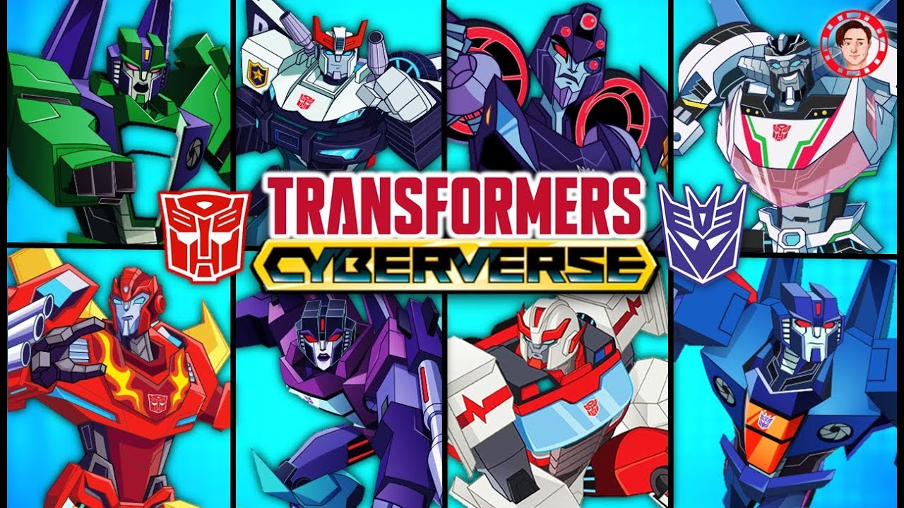 Transformers Cyberverse 2018 Cartoon All Characters Bios Revealed