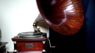 蓄音機レコード 78回転 SP 盤 ビクター・V ー6号 蓄音機.