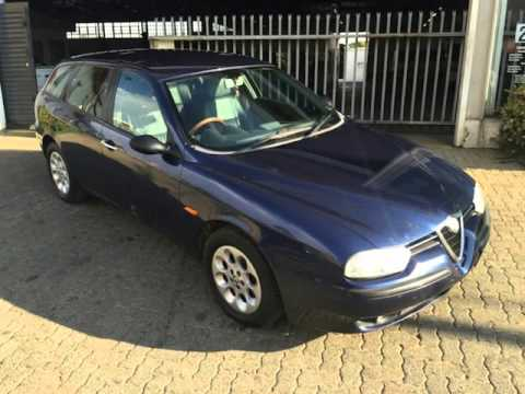 2002 alfa romeo 156 2 5 v6 6spd sportwagon auto for sale. Black Bedroom Furniture Sets. Home Design Ideas