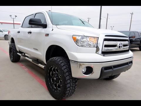 2013 Toyota Tundra SR5 TSS CrewMax V8 Lifted Truck - YouTube