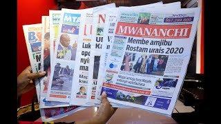 LIVE MAGAZETI: Urais 2020 kazi imeanza, Masele asema simwelewi Ndugai