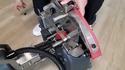 Cleanfix RA 405 B yhdistelmäkoneen käyttökuntoon laitto