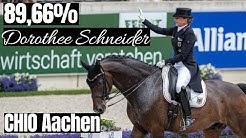 Persönliche Bestleistung mit 89,66% in der Kür 🤩 | Dorothee Schneider & Showtime | CHIO Aachen