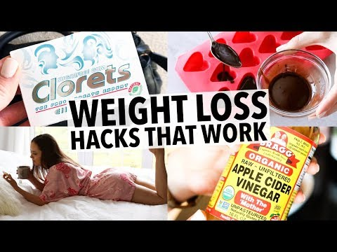 20 WEIGHT LOSS HACKS EVERY GIRL SHOULD KNOW - THAT ACTUALLY WORK!