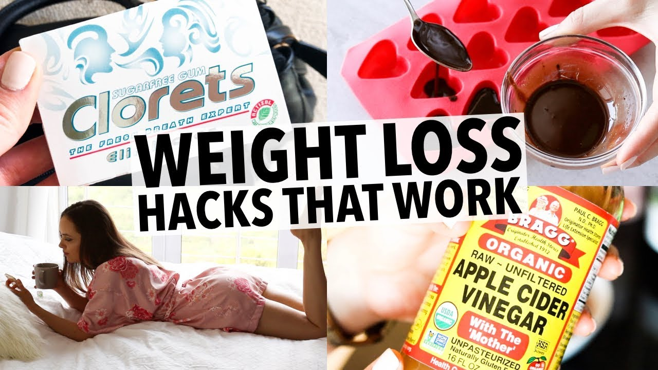 20 WEIGHT LOSS HACKS EVERY GIRL SHOULD KNOW – THAT ACTUALLY WORK!