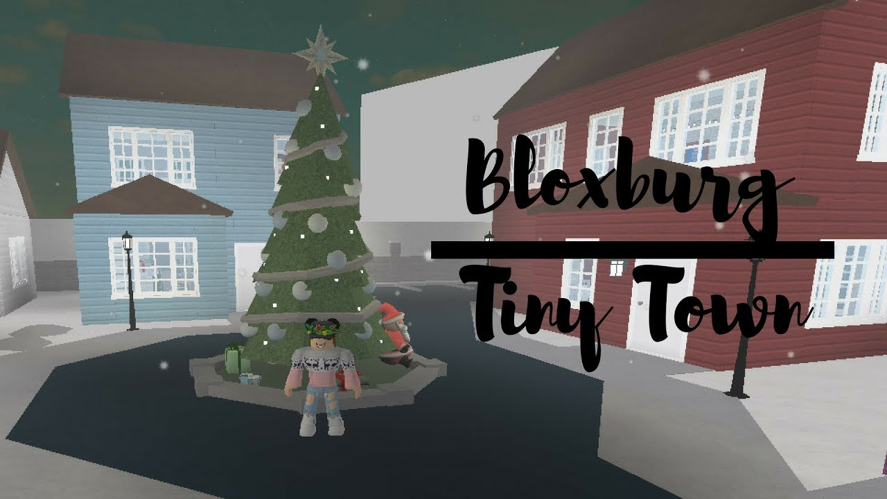 Bloxburg Tiny Town Tour Roblox Welcome To Bloxburg