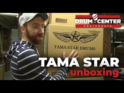 Unboxing: Tama Star Maple Exotic Caramel Olive Ash Burst Drum Set!