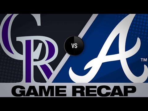 4/28/19: Donaldson's late homer gives Braves 8-7 win