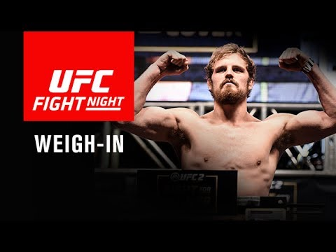Thumbnail: UFC Fight Night Glasgow: Official Weigh-in