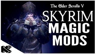 Skyrim Special Edition: ▶️5 PLAYSTATION 4 MAGIC MODS 2020◀️