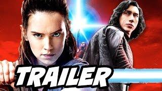 Star Wars The Last Jedi Trailer Rey and Luke Theory Breakdown