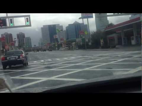 Holland Tunnel Shutdown-Thanks To Hurricane Sandy