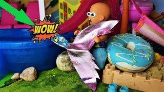 ПОЙМАЛ РУСАЛКУ КТО ОНА? КАТЯ И МАКС ВЕСЕЛАЯ СЕМЕЙКА #Куклы #мультики #Барби