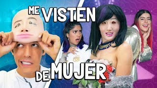 MIS HERMANAS CAMBIAN MI OUTFIT ME VISTEN DE MUJER  | POLINESIOS VLOGS
