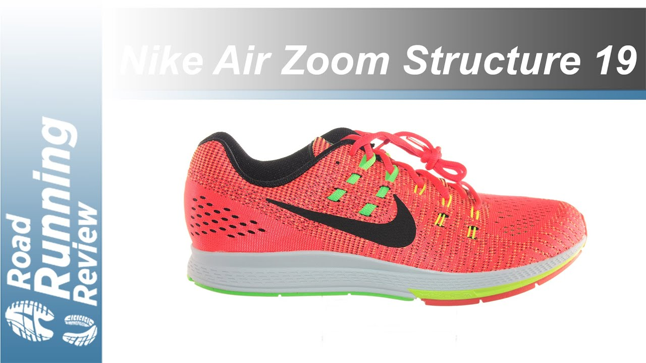 daae86ed5274e Nike Air Zoom Structure 19 Review - YouTube
