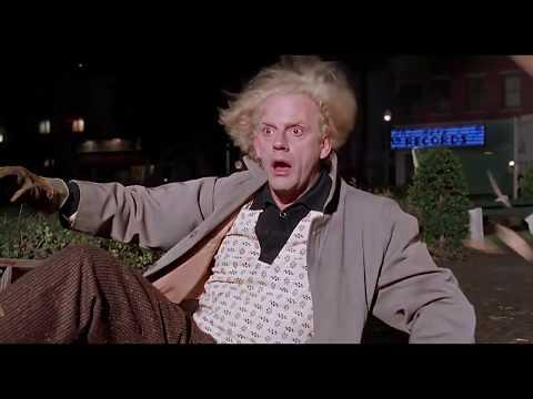 Back To The Future/Best Scene/Robert Zemeckis/Christopher Lloyd/Michael J. Fox