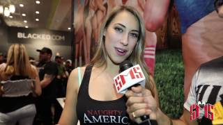 Kimber Lee Dabs and Twerks at AVN, Talks favorite scene.