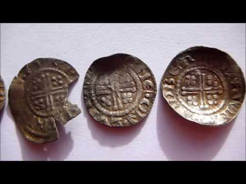 Metal detecting: The hoard of silver coins I found whilst metal detecting and the finding of them