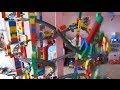Big Crash: LEGO 11 level Train Circuit Falling down!