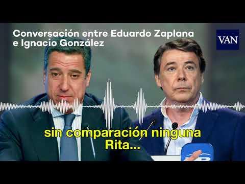 Conversación entre Eduardo Zaplana e Ignacio González