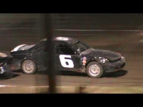 Sport Compact Heat Race Humboldt Speedway 9/8/17