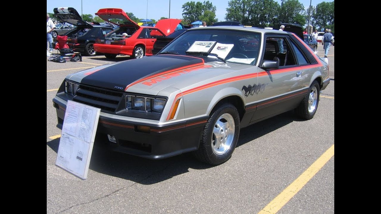 1979 Ford Mustang Indy Pace Car all original only 3700 miles - YouTube