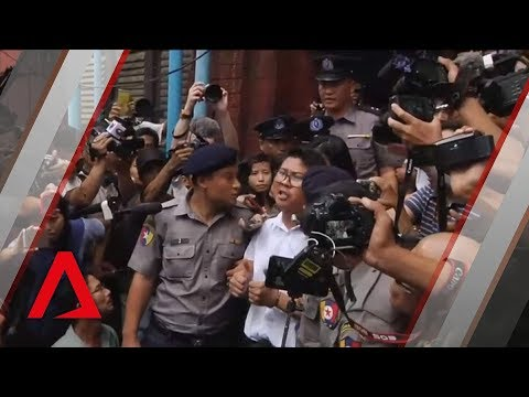 Reuters journalists sentenced to 7 years' jail by Myanmar court