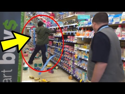 KID GETS SO MAD HE DESTROYS STORE FOR GTA 5!!!!!!! MUST WATCH!!!!!!