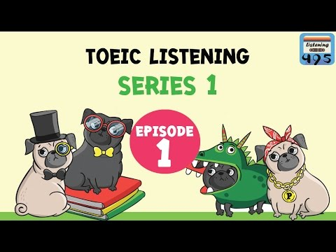ฝึกฟังภาษาอังกฤษ | listening practice for toeic EP1