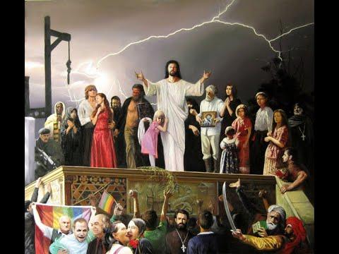 """ПСАЛТИРЬ - ПСАЛОМ 21, картина """"Казнь Иисуса. Видение от 20 октября 2011 года"""""""