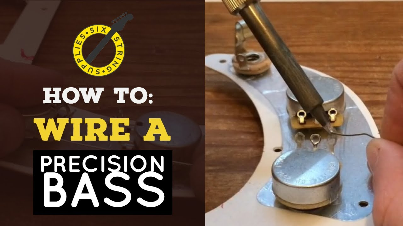 fender precision wiring schematics precision bass wiring how to wire a precision bass youtube  precision bass wiring how to wire a